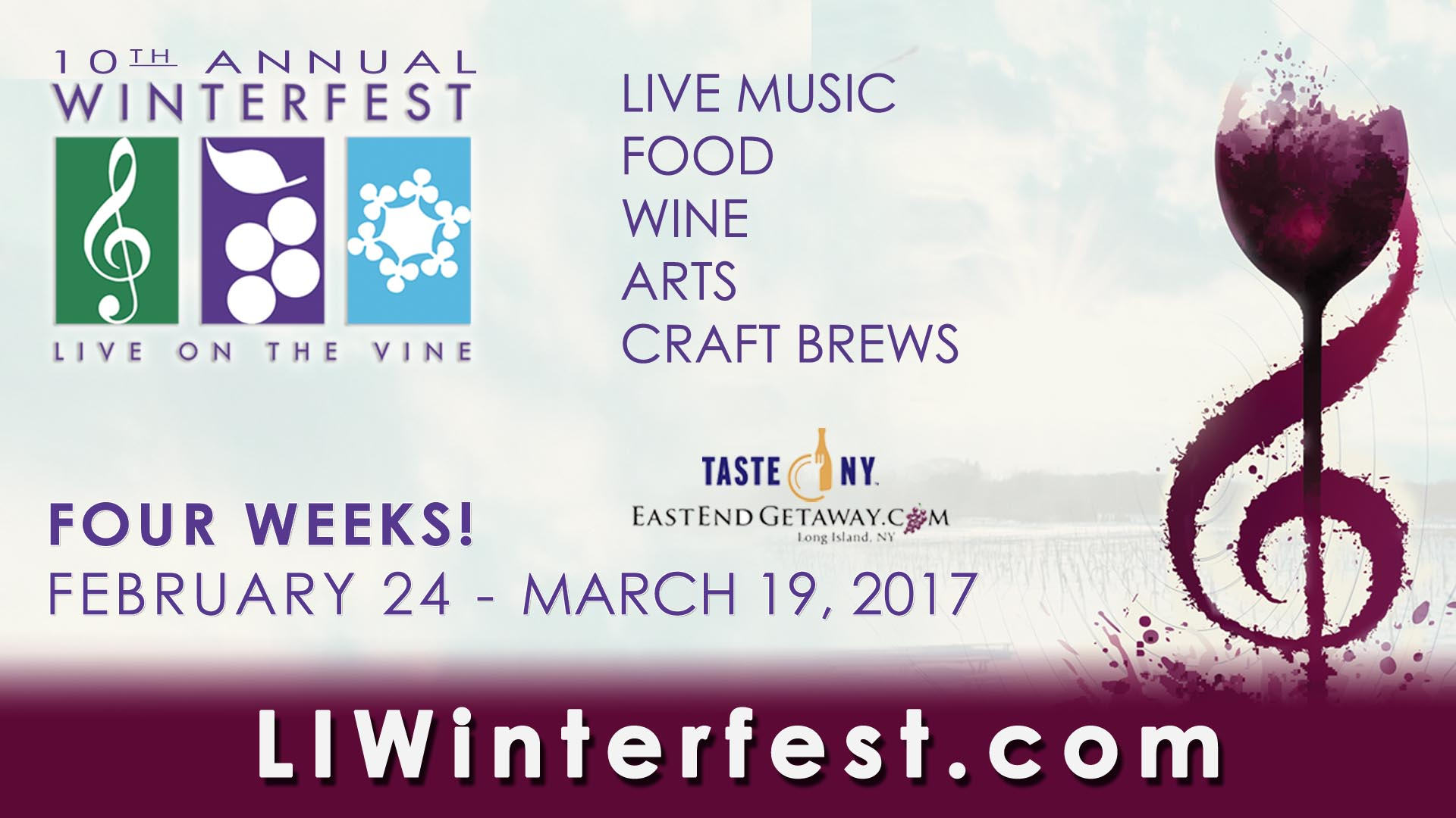 Winterfest 2017, Feb 24-March 19,2017